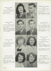 Page 16, 1948 Edition, Dighton Rehoboth High School - Golden Log Yearbook (Dighton, MA) online yearbook collection