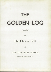 Page 7, 1948 Edition, Dighton Rehoboth High School - Golden Log Yearbook (Dighton, MA) online yearbook collection