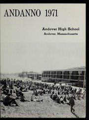 Page 5, 1971 Edition, Andover High School - Andanno Yearbook (Andover, MA) online yearbook collection