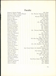 Page 13, 1931 Edition, Classical High School - Classic Myths Yearbook (Worcester, MA) online yearbook collection