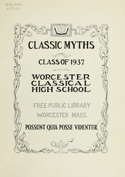 Page 5, 1937 Edition, Classical High School - Classic Myths Yearbook (Worcester, MA) online yearbook collection