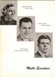 Page 10, 1950 Edition, Classical High School - Classic Myths Yearbook (Worcester, MA) online yearbook collection