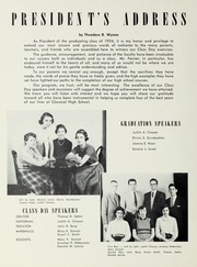 Page 14, 1954 Edition, Classical High School - Classic Myths Yearbook (Worcester, MA) online yearbook collection
