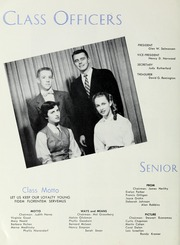 Page 10, 1955 Edition, Classical High School - Classic Myths Yearbook (Worcester, MA) online yearbook collection