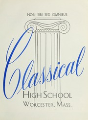 Page 5, 1955 Edition, Classical High School - Classic Myths Yearbook (Worcester, MA) online yearbook collection