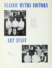 Page 10, 1960 Edition, Classical High School - Classic Myths Yearbook (Worcester, MA) online yearbook collection