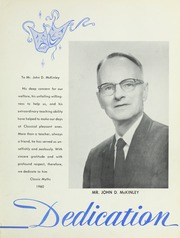 Page 7, 1960 Edition, Classical High School - Classic Myths Yearbook (Worcester, MA) online yearbook collection