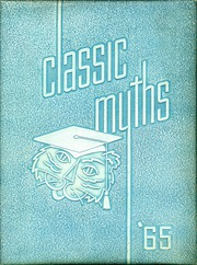 1965 Edition, Classical High School - Classic Myths Yearbook (Worcester, MA)