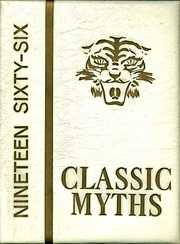 1966 Edition, Classical High School - Classic Myths Yearbook (Worcester, MA)
