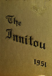 1951 Edition, Woburn High School - Innitou Yearbook (Woburn, MA)