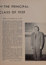 Page 15, 1959 Edition, Woburn High School - Innitou Yearbook (Woburn, MA) online yearbook collection