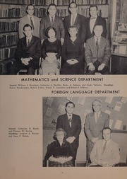 Page 17, 1959 Edition, Woburn High School - Innitou Yearbook (Woburn, MA) online yearbook collection