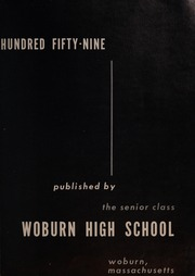 Page 7, 1959 Edition, Woburn High School - Innitou Yearbook (Woburn, MA) online yearbook collection