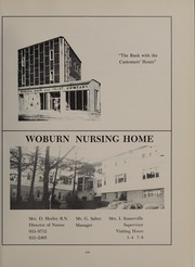 Page 213, 1968 Edition, Woburn High School - Innitou Yearbook (Woburn, MA) online yearbook collection
