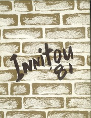 1981 Edition, Woburn High School - Innitou Yearbook (Woburn, MA)