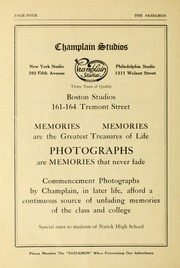 Page 6, 1922 Edition, Natick High School - Sassamon Yearbook (Natick, MA) online yearbook collection