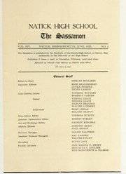 Page 9, 1925 Edition, Natick High School - Sassamon Yearbook (Natick, MA) online yearbook collection