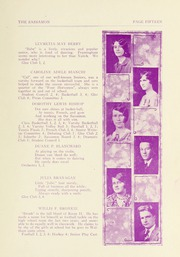Page 17, 1929 Edition, Natick High School - Sassamon Yearbook (Natick, MA) online yearbook collection