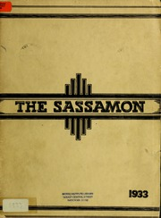 Page 1, 1933 Edition, Natick High School - Sassamon Yearbook (Natick, MA) online yearbook collection