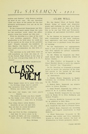 Page 11, 1933 Edition, Natick High School - Sassamon Yearbook (Natick, MA) online yearbook collection