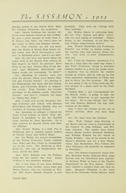 Page 14, 1933 Edition, Natick High School - Sassamon Yearbook (Natick, MA) online yearbook collection