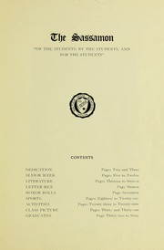 Page 5, 1933 Edition, Natick High School - Sassamon Yearbook (Natick, MA) online yearbook collection