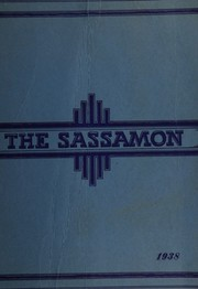1938 Edition, Natick High School - Sassamon Yearbook (Natick, MA)