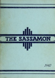 1940 Edition, Natick High School - Sassamon Yearbook (Natick, MA)