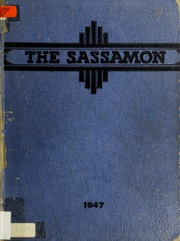 1947 Edition, Natick High School - Sassamon Yearbook (Natick, MA)