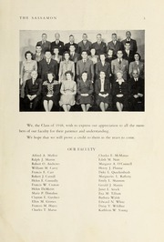 Page 5, 1948 Edition, Natick High School - Sassamon Yearbook (Natick, MA) online yearbook collection