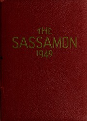 1949 Edition, Natick High School - Sassamon Yearbook (Natick, MA)