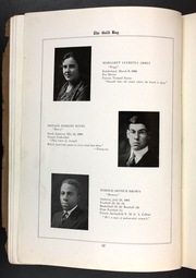 Page 14, 1921 Edition, Amherst Regional High School - Goldbug Yearbook (Amherst, MA) online yearbook collection