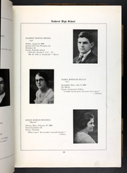 Page 15, 1921 Edition, Amherst Regional High School - Goldbug Yearbook (Amherst, MA) online yearbook collection