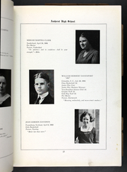 Page 17, 1921 Edition, Amherst Regional High School - Goldbug Yearbook (Amherst, MA) online yearbook collection