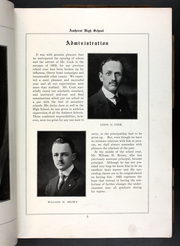 Page 7, 1921 Edition, Amherst Regional High School - Goldbug Yearbook (Amherst, MA) online yearbook collection