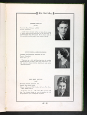 Page 15, 1930 Edition, Amherst Regional High School - Goldbug Yearbook (Amherst, MA) online yearbook collection