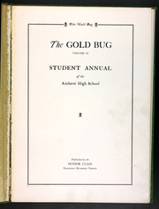 Page 7, 1930 Edition, Amherst Regional High School - Goldbug Yearbook (Amherst, MA) online yearbook collection