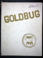 Amherst Regional High School - Goldbug Yearbook (Amherst, MA) online yearbook collection, 1949 Edition, Page 1