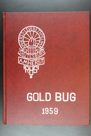 1959 Edition, Amherst Regional High School - Goldbug Yearbook (Amherst, MA)