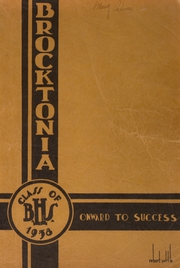 Page 1, 1935 Edition, Brockton High School - Brocktonia Yearbook (Brockton, MA) online yearbook collection