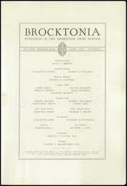 Page 5, 1938 Edition, Brockton High School - Brocktonia Yearbook (Brockton, MA) online yearbook collection