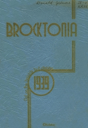 Page 1, 1939 Edition, Brockton High School - Brocktonia Yearbook (Brockton, MA) online yearbook collection