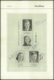 Page 8, 1939 Edition, Brockton High School - Brocktonia Yearbook (Brockton, MA) online yearbook collection