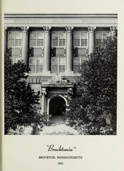 Page 5, 1951 Edition, Brockton High School - Brocktonia Yearbook (Brockton, MA) online yearbook collection