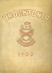 Page 1, 1955 Edition, Brockton High School - Brocktonia Yearbook (Brockton, MA) online yearbook collection