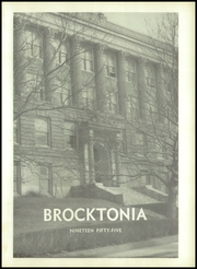 Page 5, 1955 Edition, Brockton High School - Brocktonia Yearbook (Brockton, MA) online yearbook collection