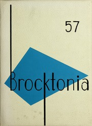 Page 1, 1957 Edition, Brockton High School - Brocktonia Yearbook (Brockton, MA) online yearbook collection