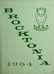 Page 1, 1964 Edition, Brockton High School - Brocktonia Yearbook (Brockton, MA) online yearbook collection