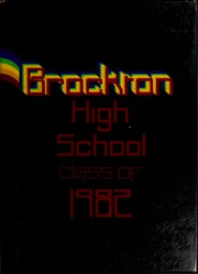 Page 1, 1982 Edition, Brockton High School - Brocktonia Yearbook (Brockton, MA) online yearbook collection