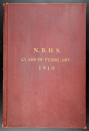 1919 Edition, New Bedford High School - Crimson Log Yearbook (New Bedford, MA)